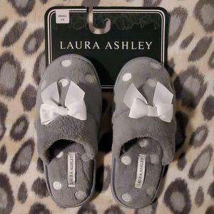 Laura Ashley Polka Dot slippers